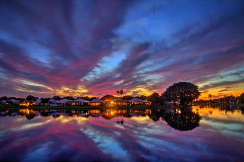House at Lake Palm Beach Gardens Florida