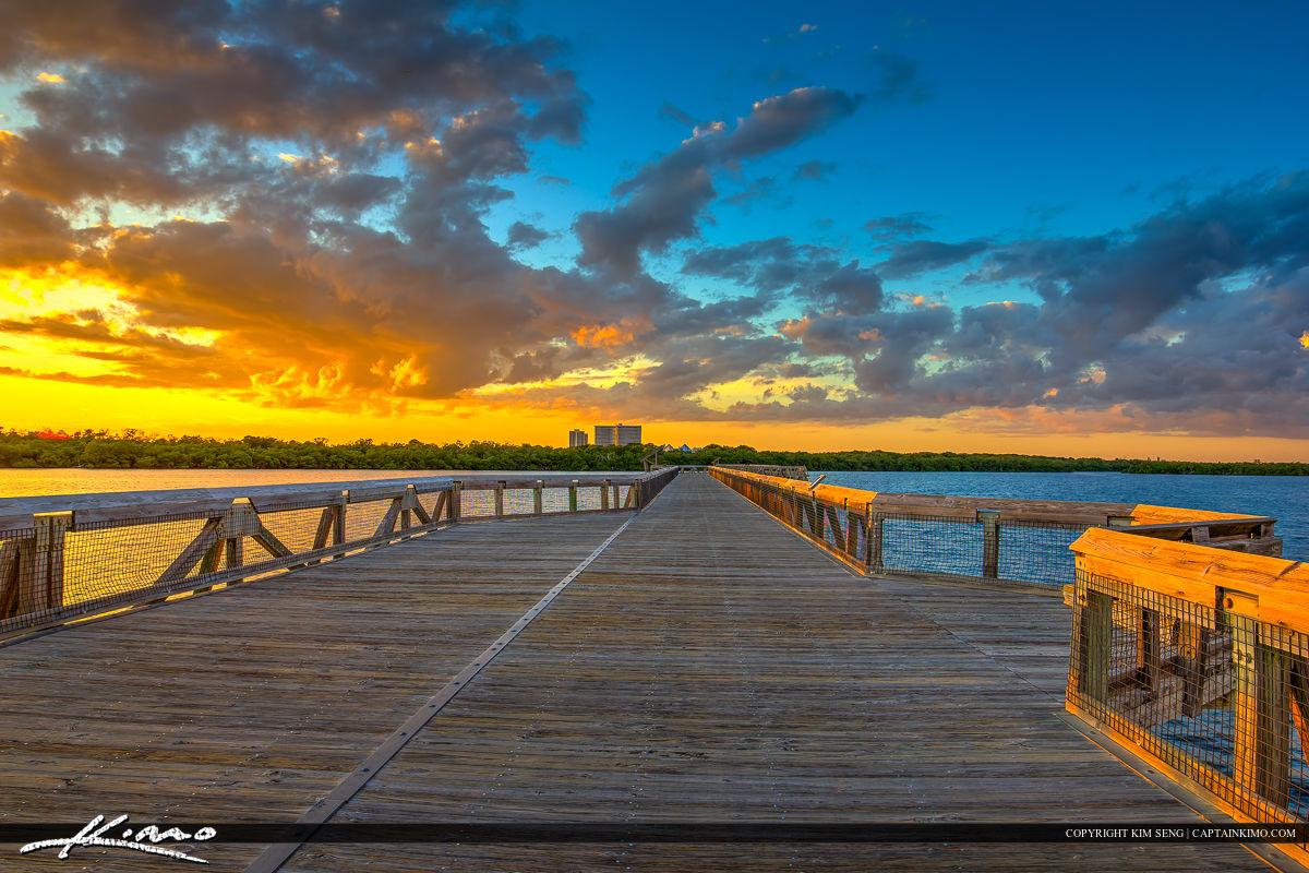 Macarthur Park Sunset