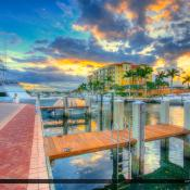Riverwalk Marina in Jupiter Florida by the Docks