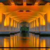 Veterans Memorial Bridge Palm City Florida Under Bridge