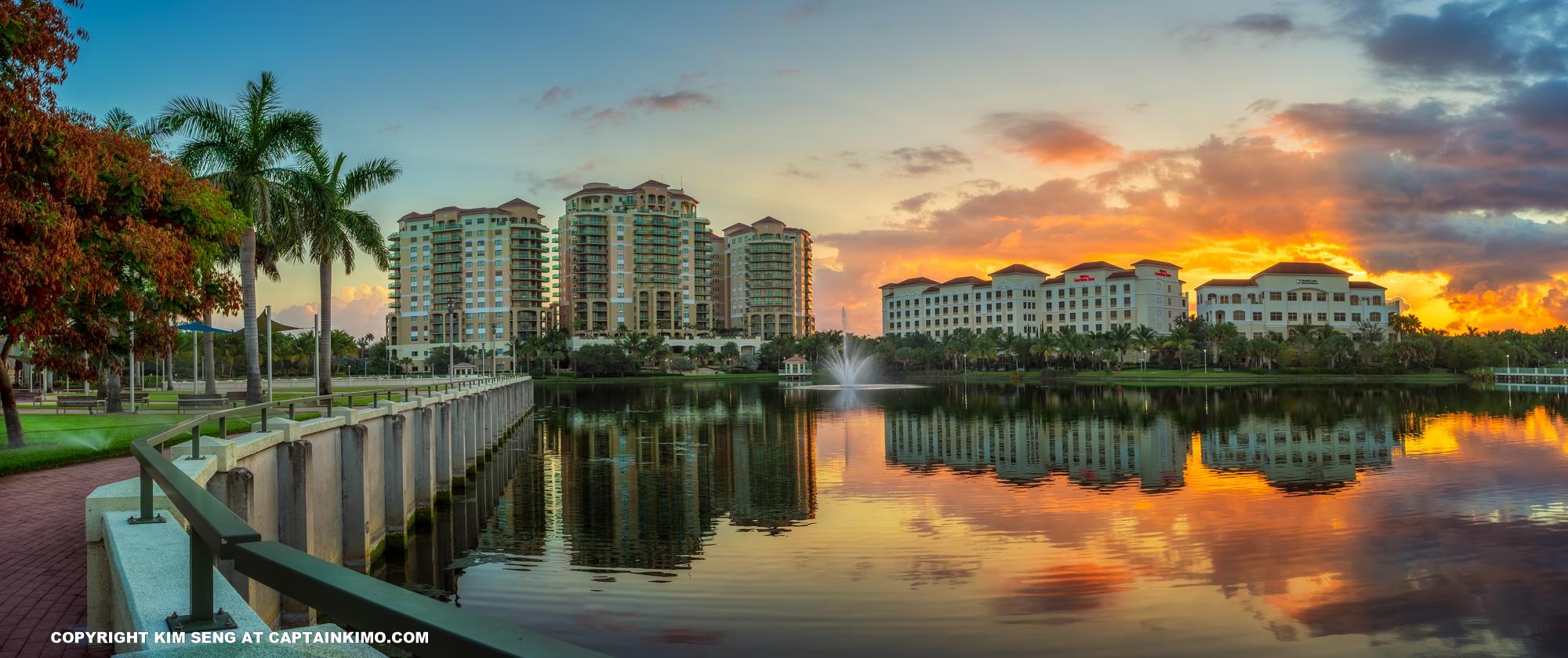 Palm Beach Gardens Sunrise Downtown
