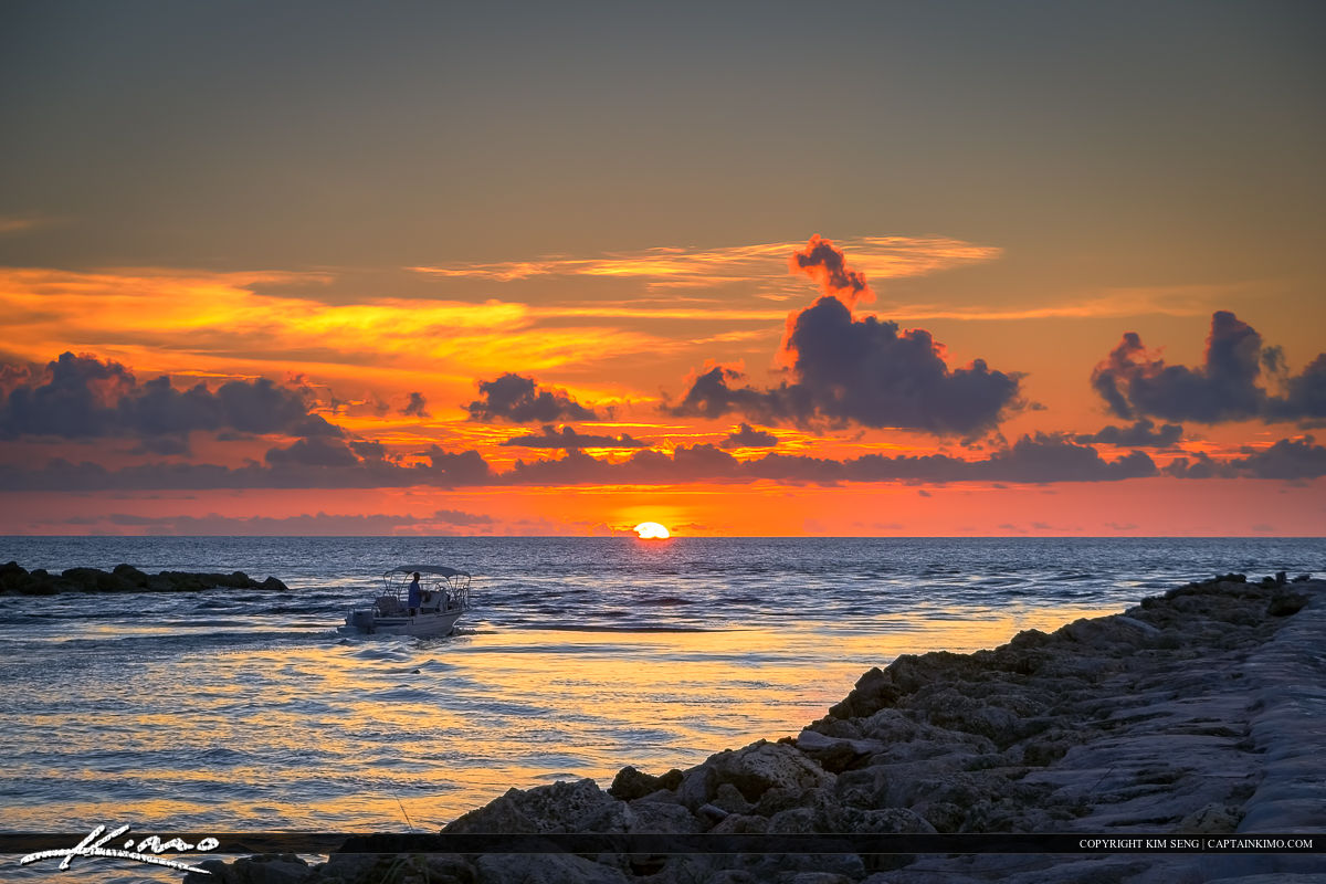 Boca Raton Inlet Sunrise at the Park