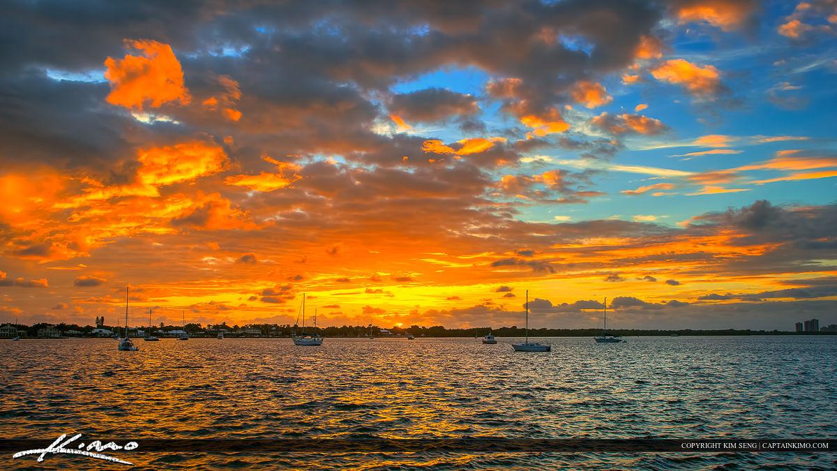 North Palm Beach Sunrise Old Port Cove