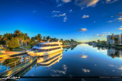 Delray Beach Florida Downtown Waterway Boat Tour