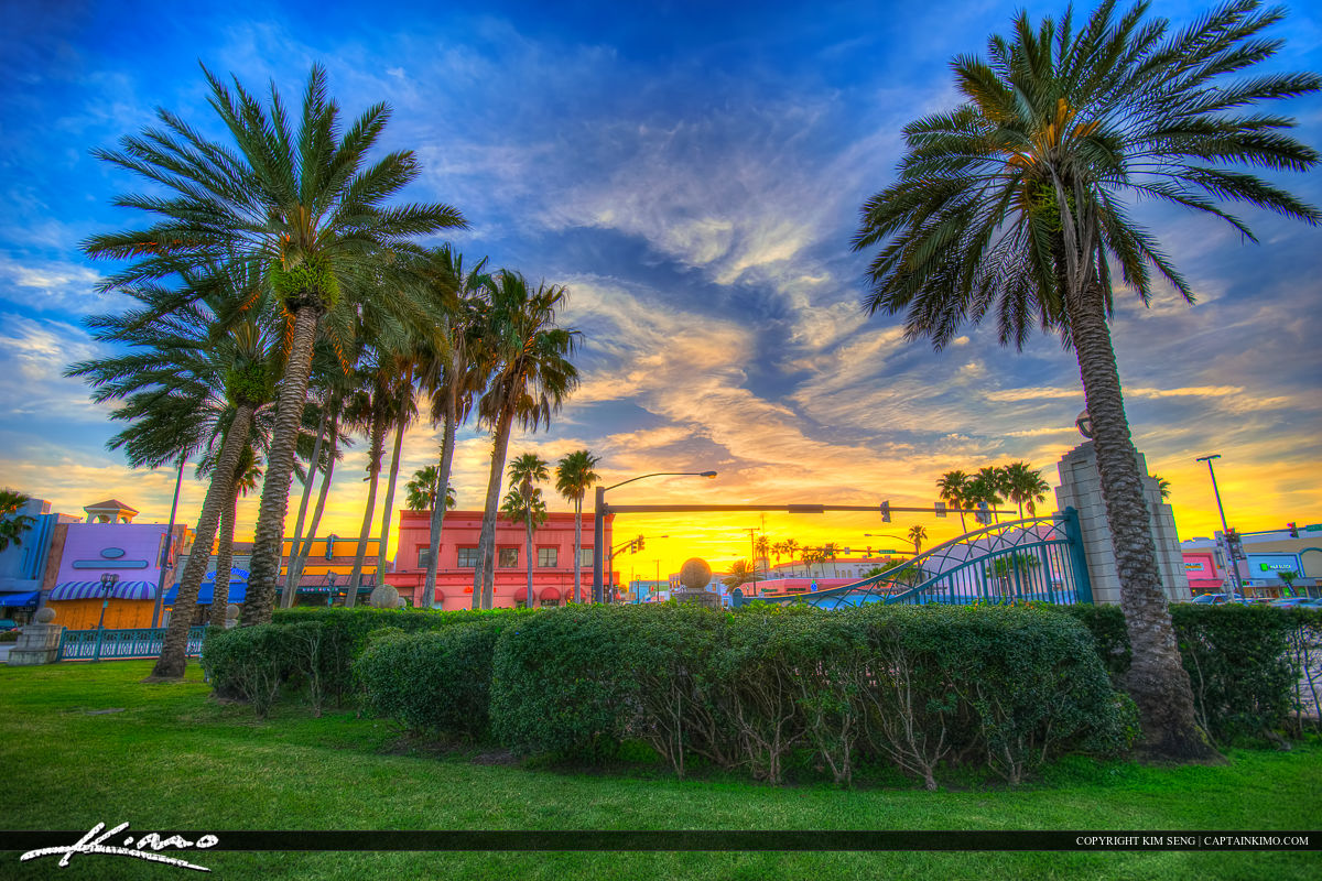 Riverfront Park South Beach Street Daytona Beach Florida