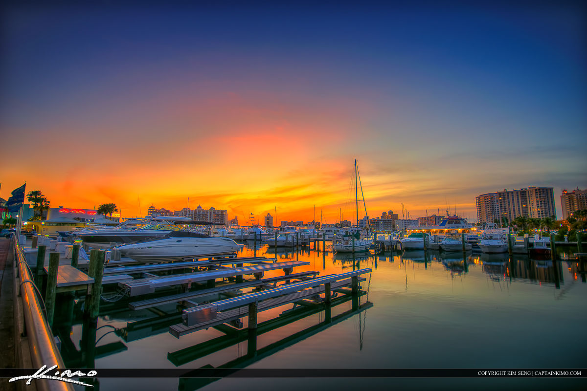 Sarasota Bayfront Marina Boat Docks