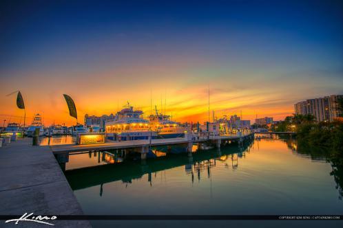 Sarasota Bayfront Marina Fishing Charter Boat