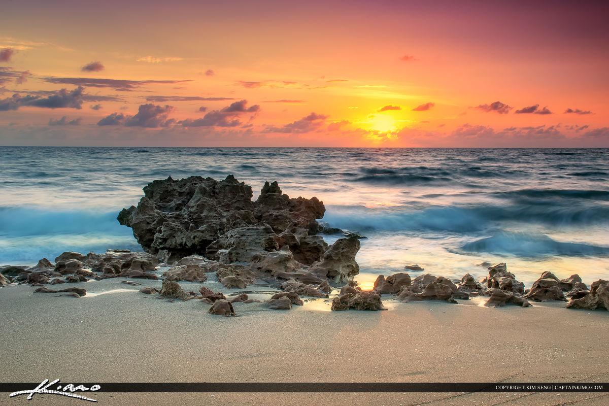 Sunrise at the Beach in Jupiter Island Florida