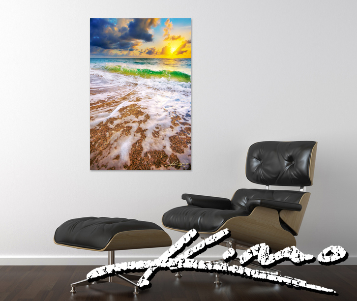 captain-kimo-beach-sunrise-wall-art-with-signature