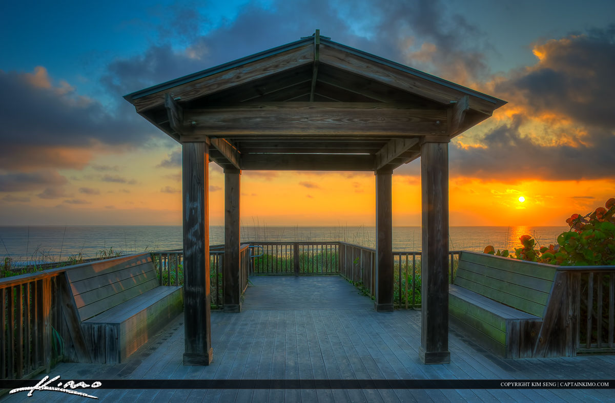 Hobe Sound National Wildlife Refuge Beach Park Sunrise