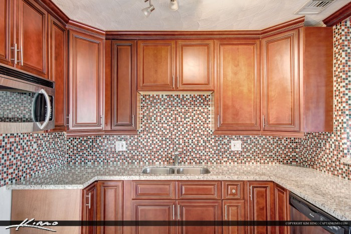 Kitchen in Hollywood Florida Waterfront Property