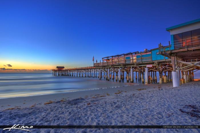 Cocoa Beach Pier Deep Rich Colors