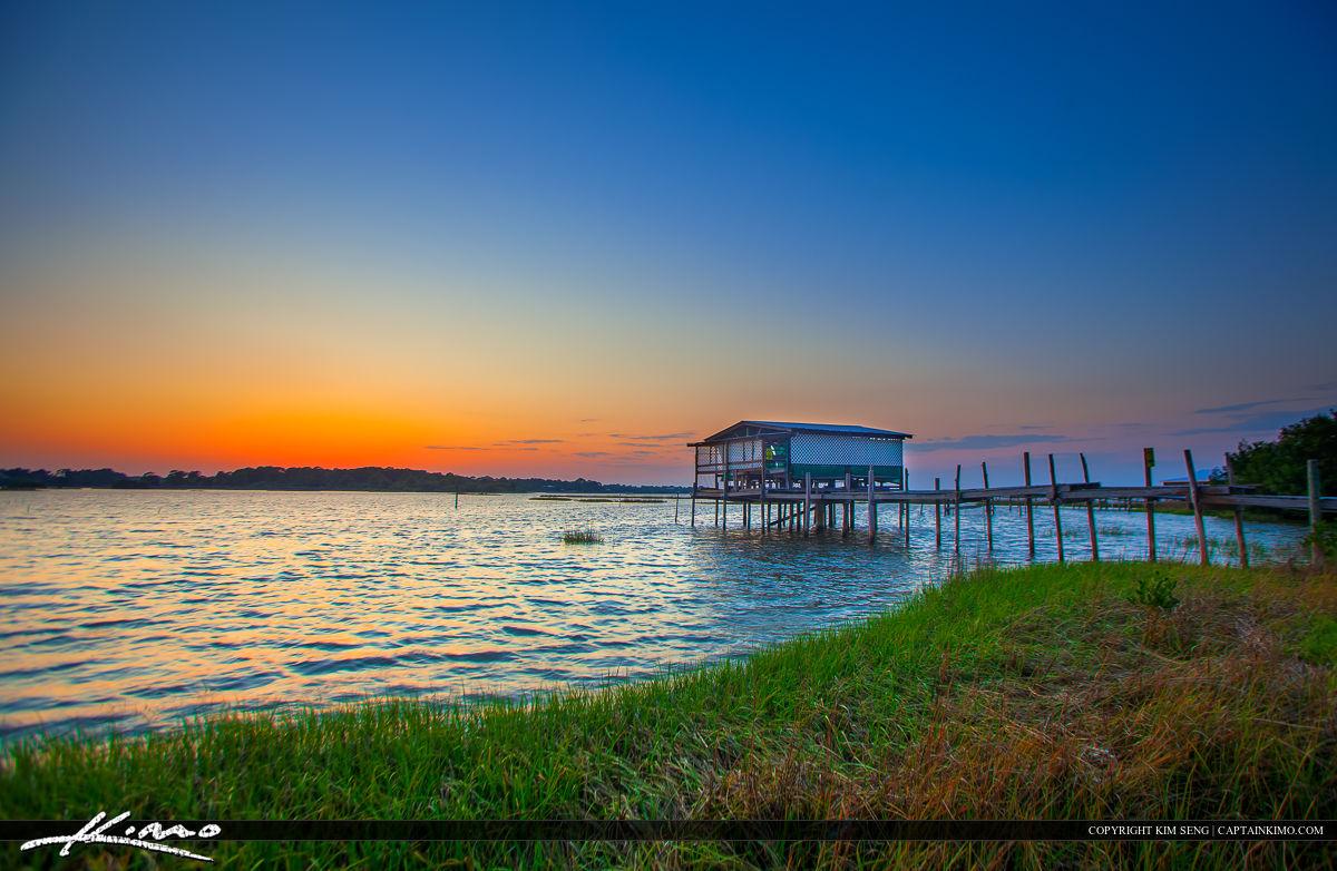 Sunset at the Bayou Cedar Key Florida