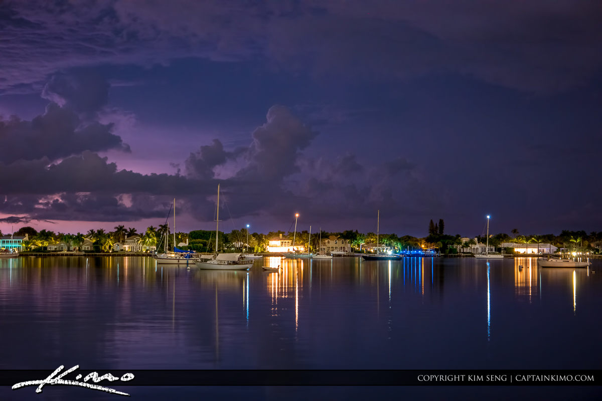 North Palm Beach Lake Worth Lagoon Storm