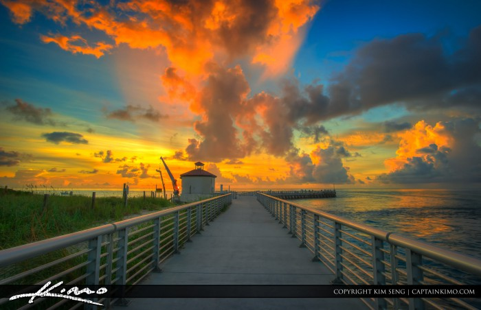 Boynton Beach Inlet Beach Sunrise at Pumphouse
