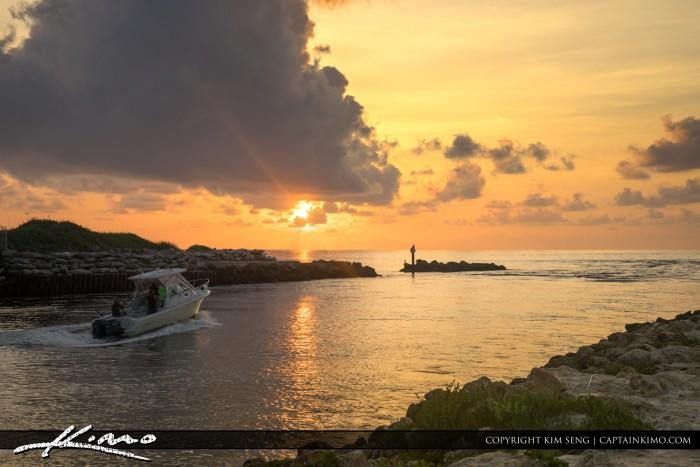 Boca Raton Lifestyle Photos Ocean Boating Sunrise