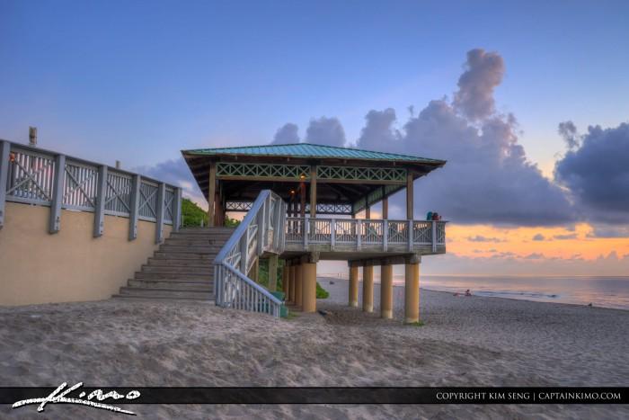 Boca Raton Lifestyle Photos Sunrise at Beach Pavilion