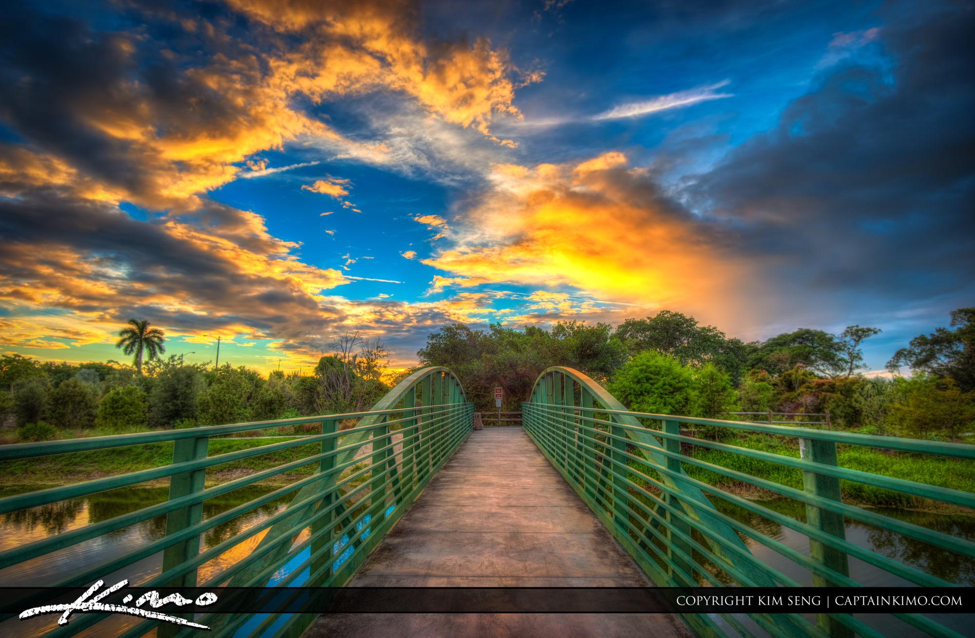 Boca Raton Pondhawk Natural Area Bridge