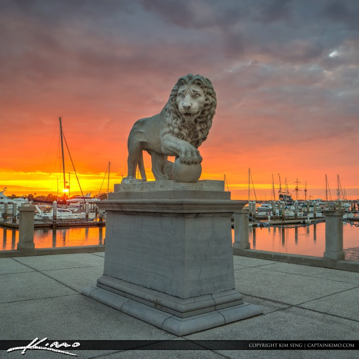 Bridge of Lions Statue