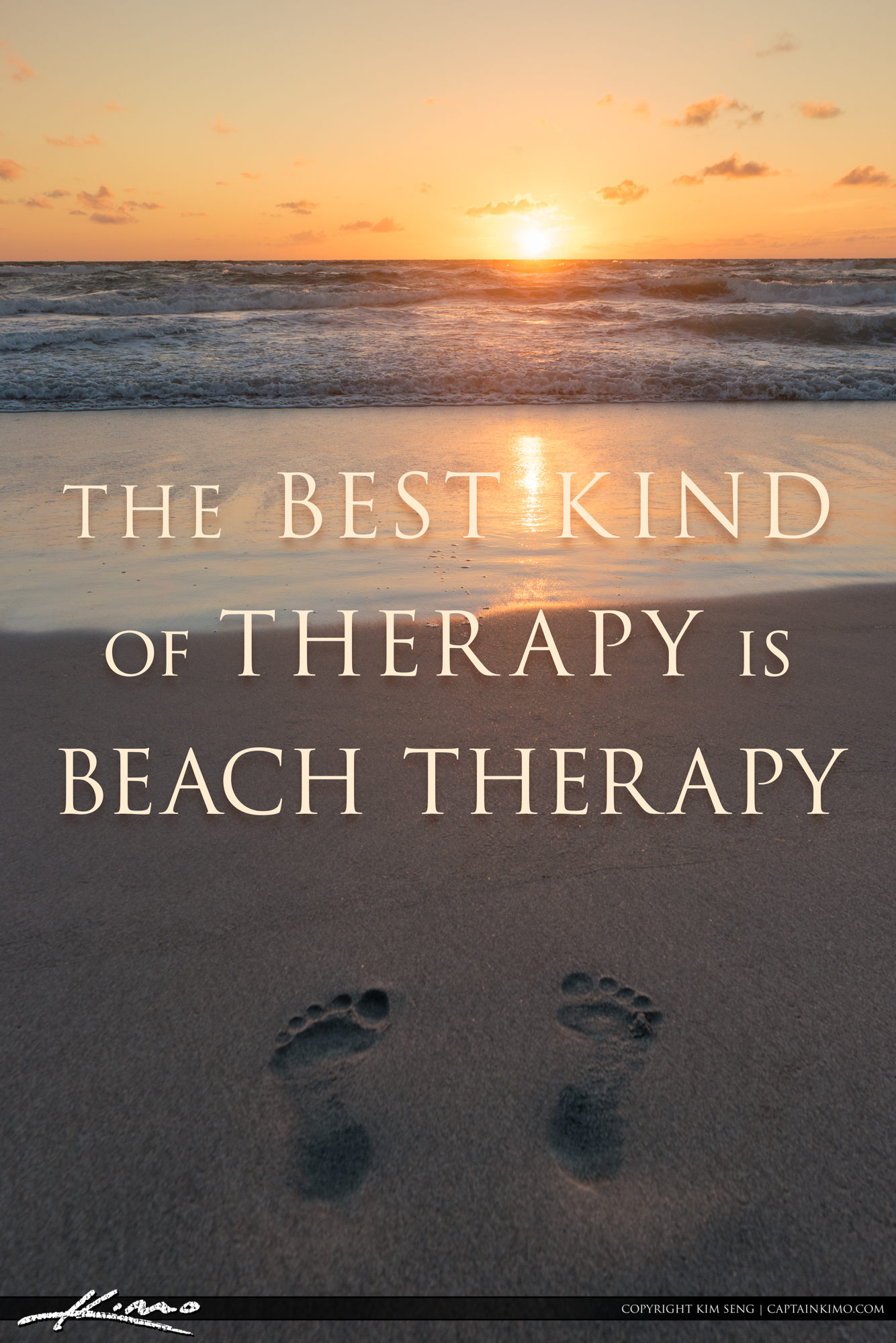 The Best Kind of Therapy is Beach Therapy