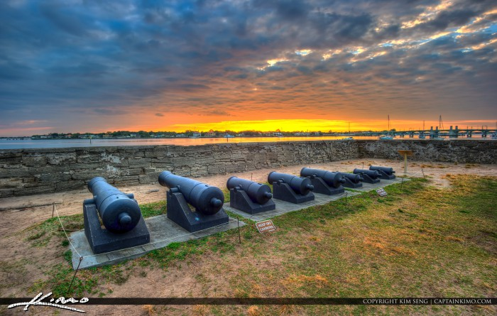 Castillo de San Marcos National Monument Canons