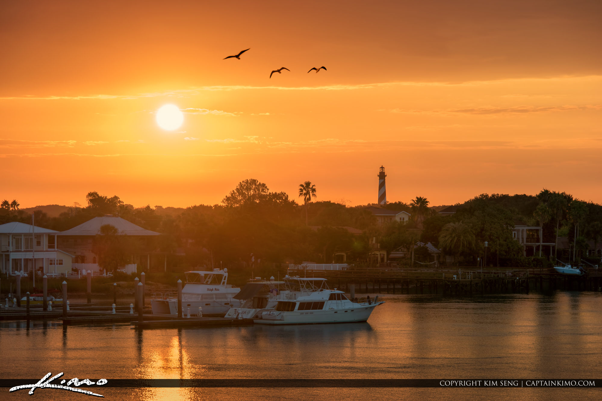 St Augustine Lighthouse Sunrise