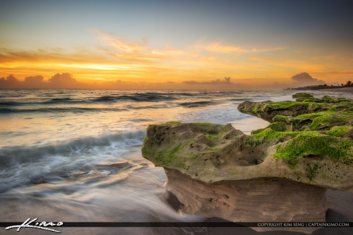 Colors at Sunrise Carlin Park Jupiter Florida