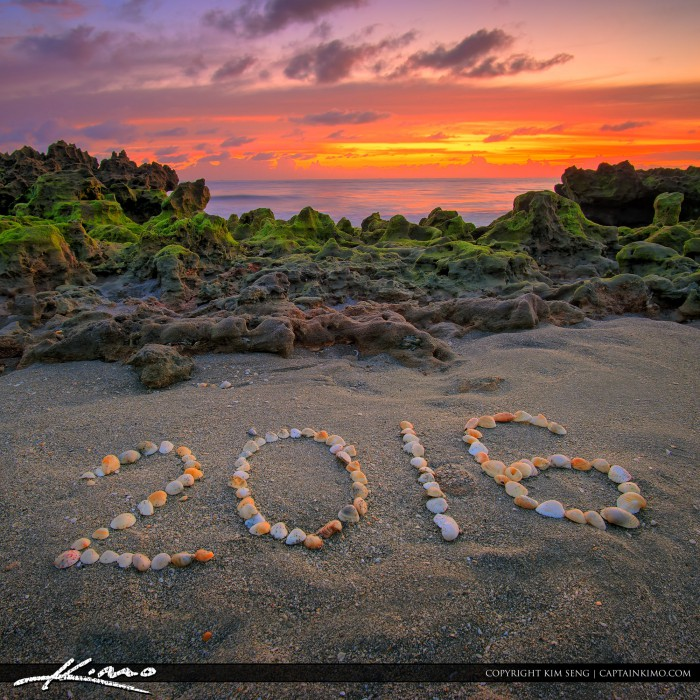 New Years Day Sunrise 2016