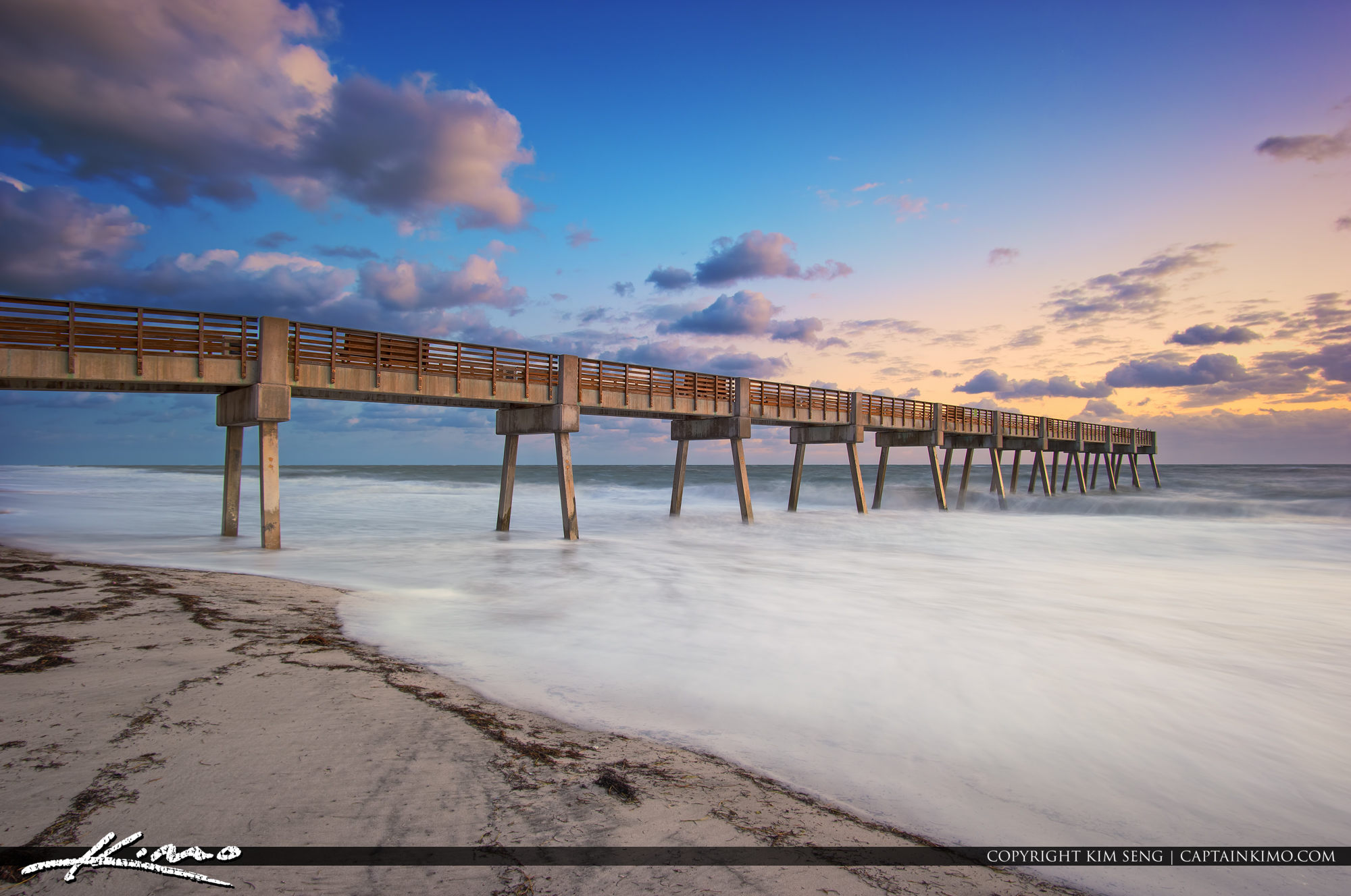 Vero Beach Pier Long Exposure