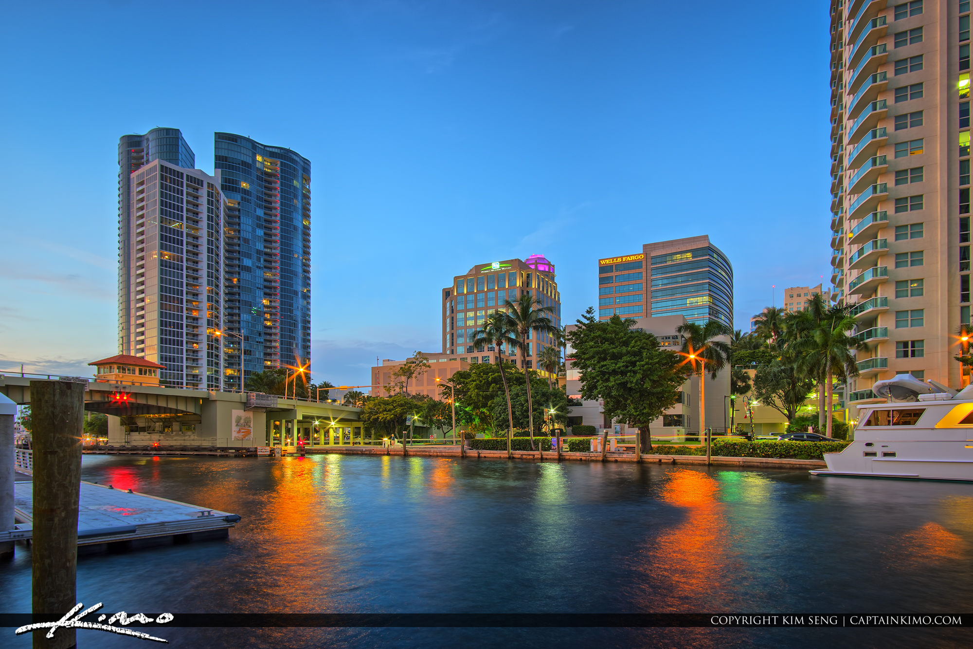 Fort Lauderdale Downtown along the New River Broward County