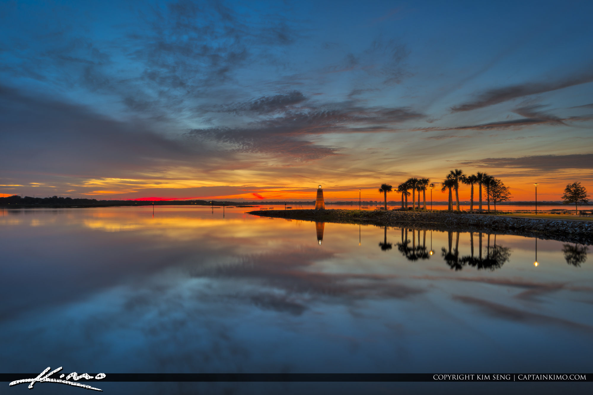 Sunrise Lake Tohopekaliga Kissimmee Florida