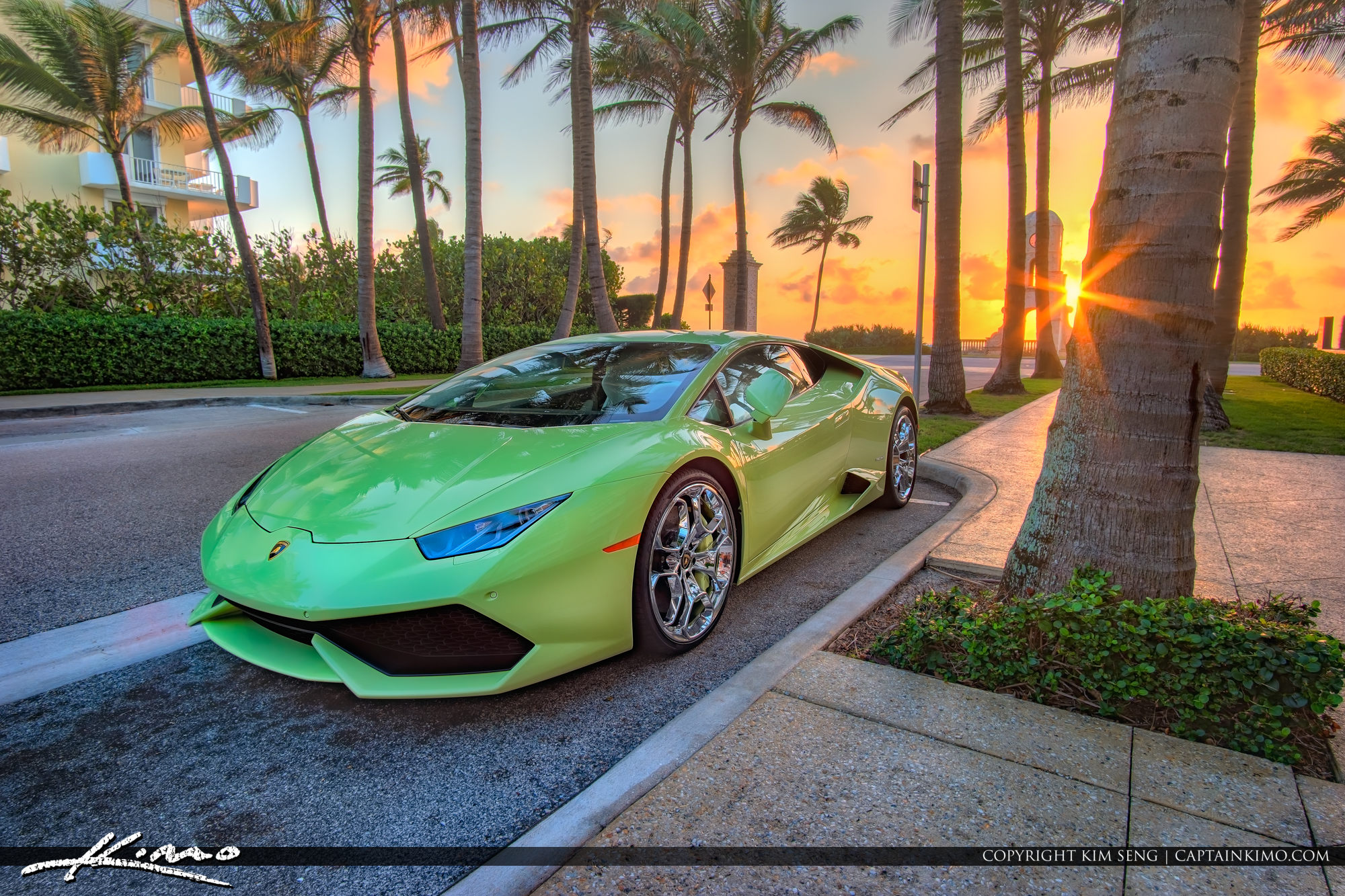 Lamborghini Lake Worth Avenue Palm Beach Island