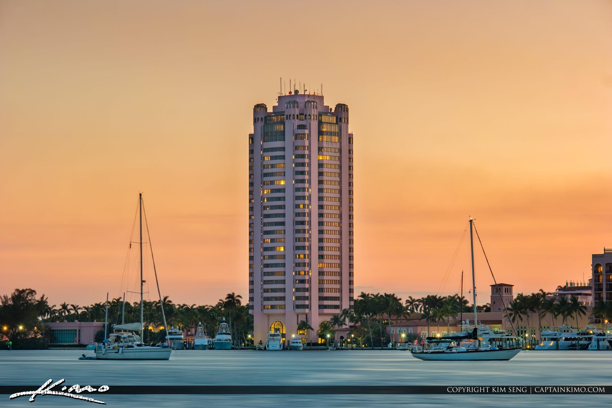 Boca Raton Resort Sunset Lake Boca