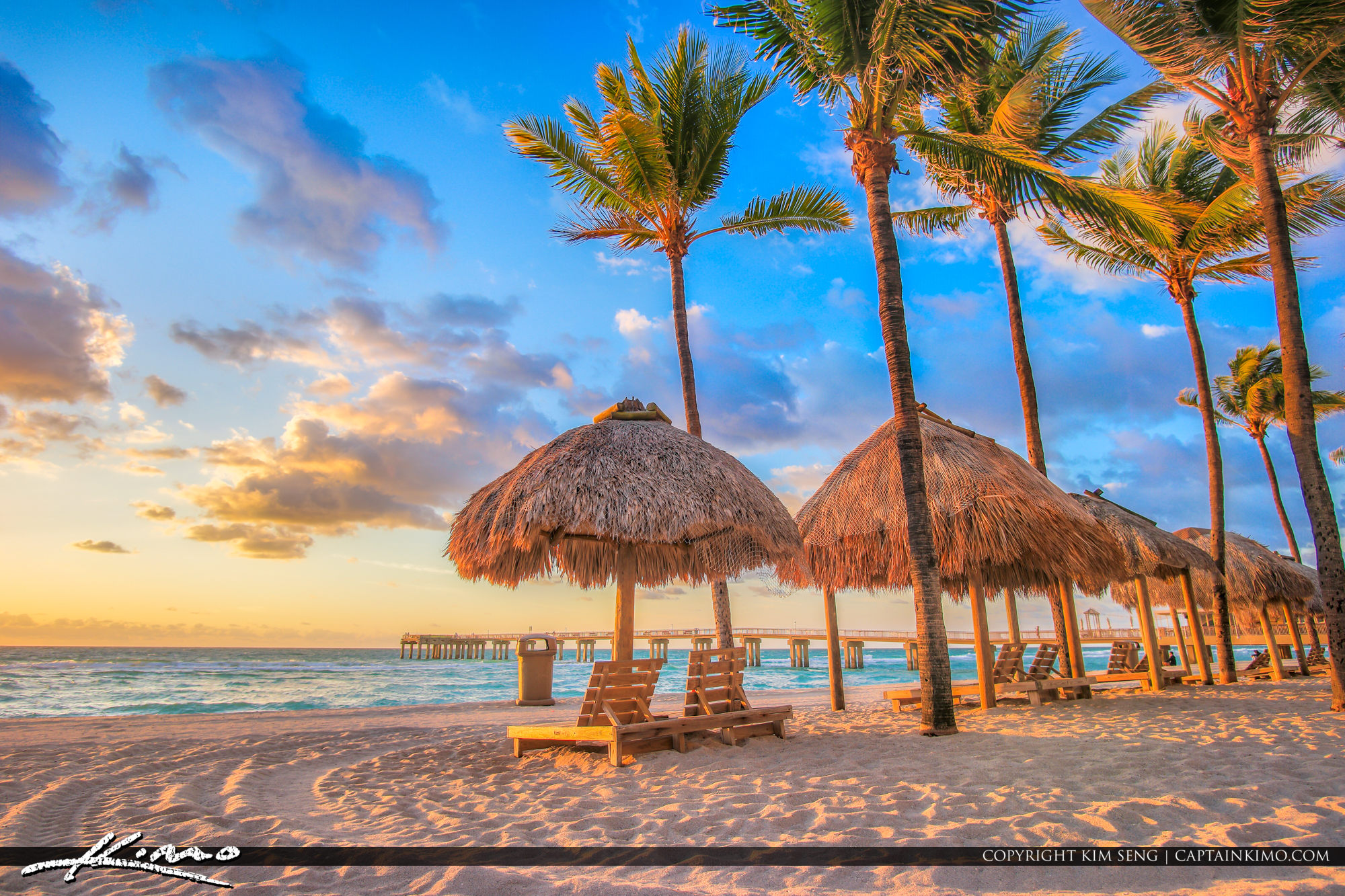 Sunny Isles Beach Newport Pier Florida