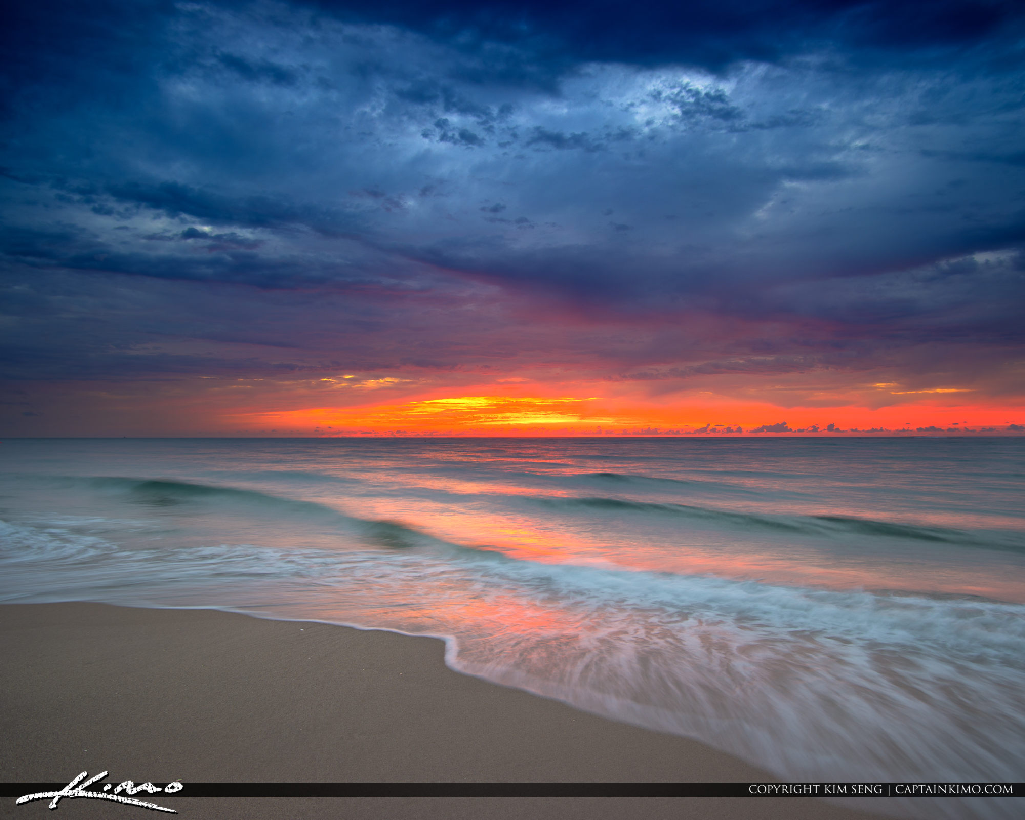 South Florida Sunrise at Beach