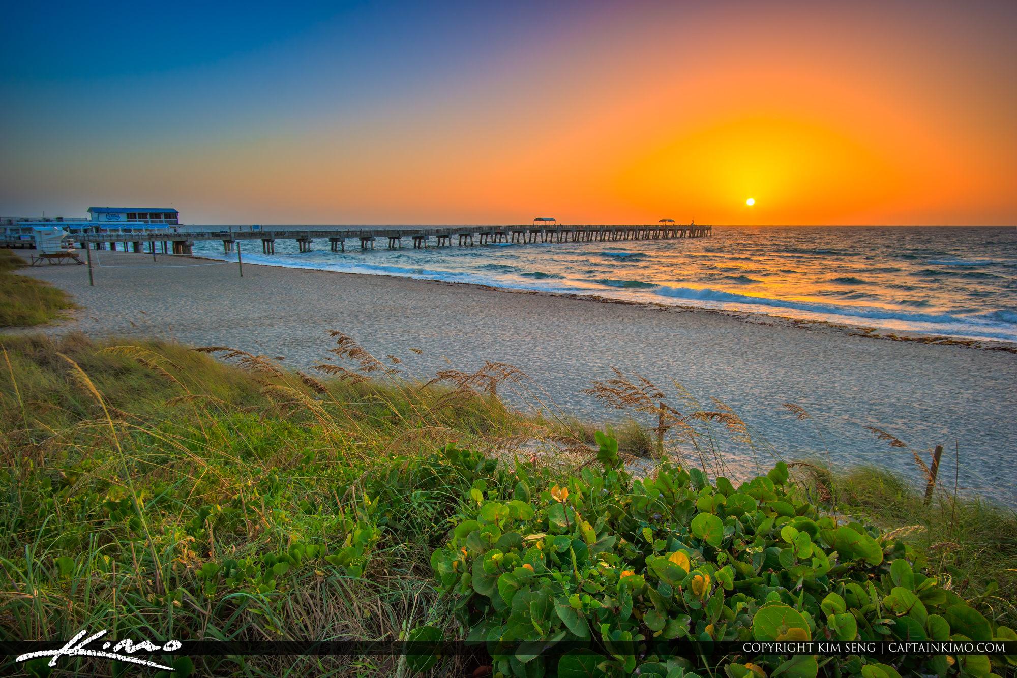 Lake Worth Pier Sunrise Beach