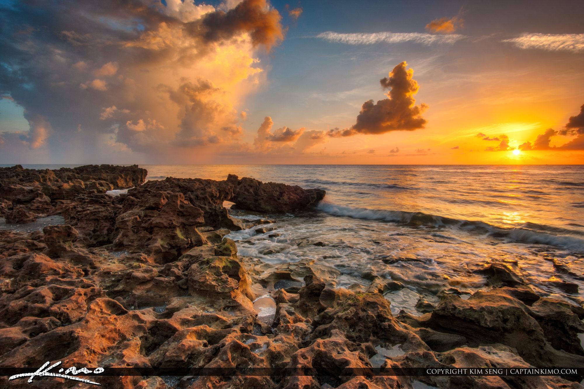 Coral Cove Sunrise at Jupiter Island South Florida