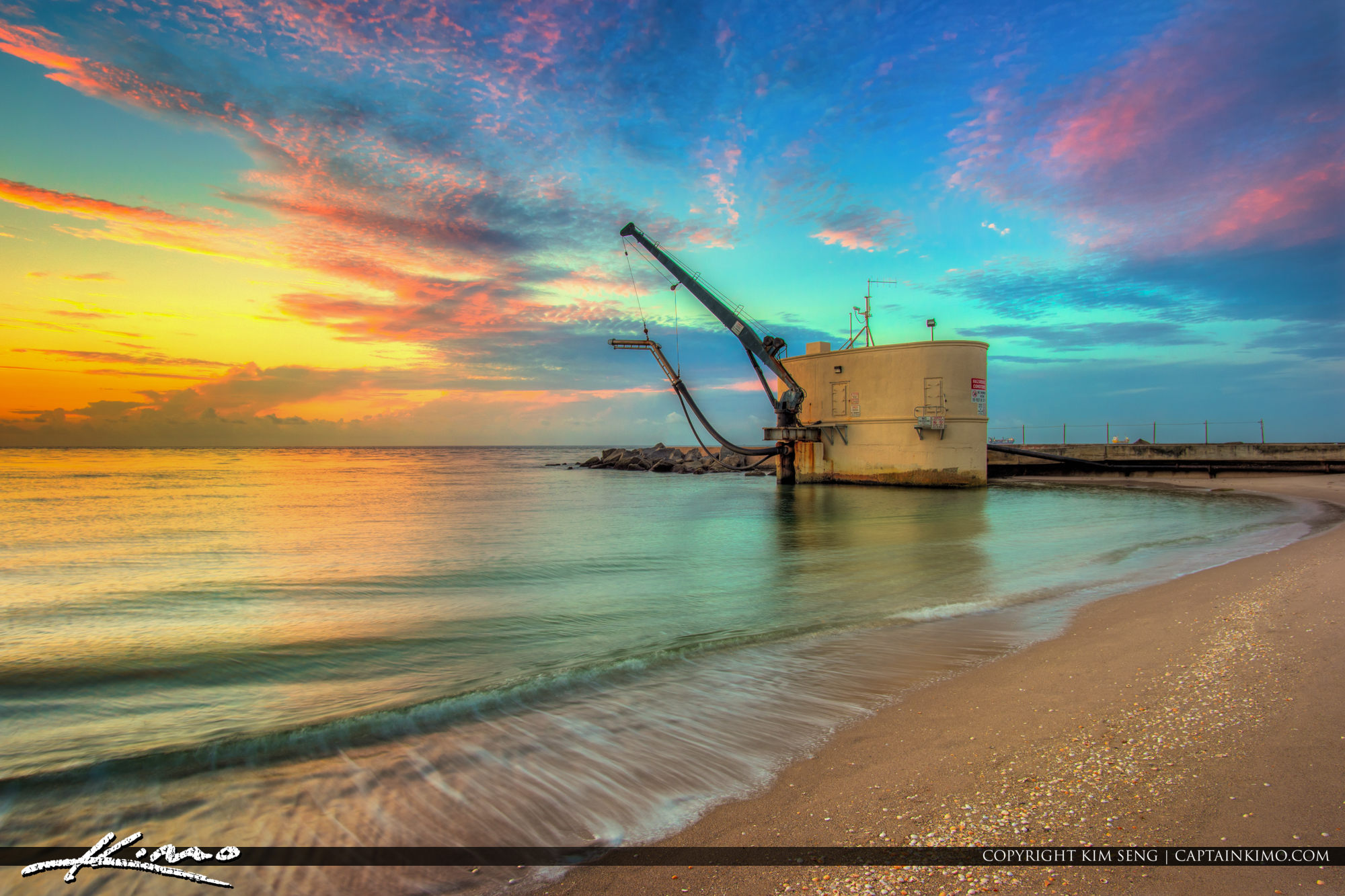 Pumphouse at Sunrise Palm Beach Inlet Singer Island Florida