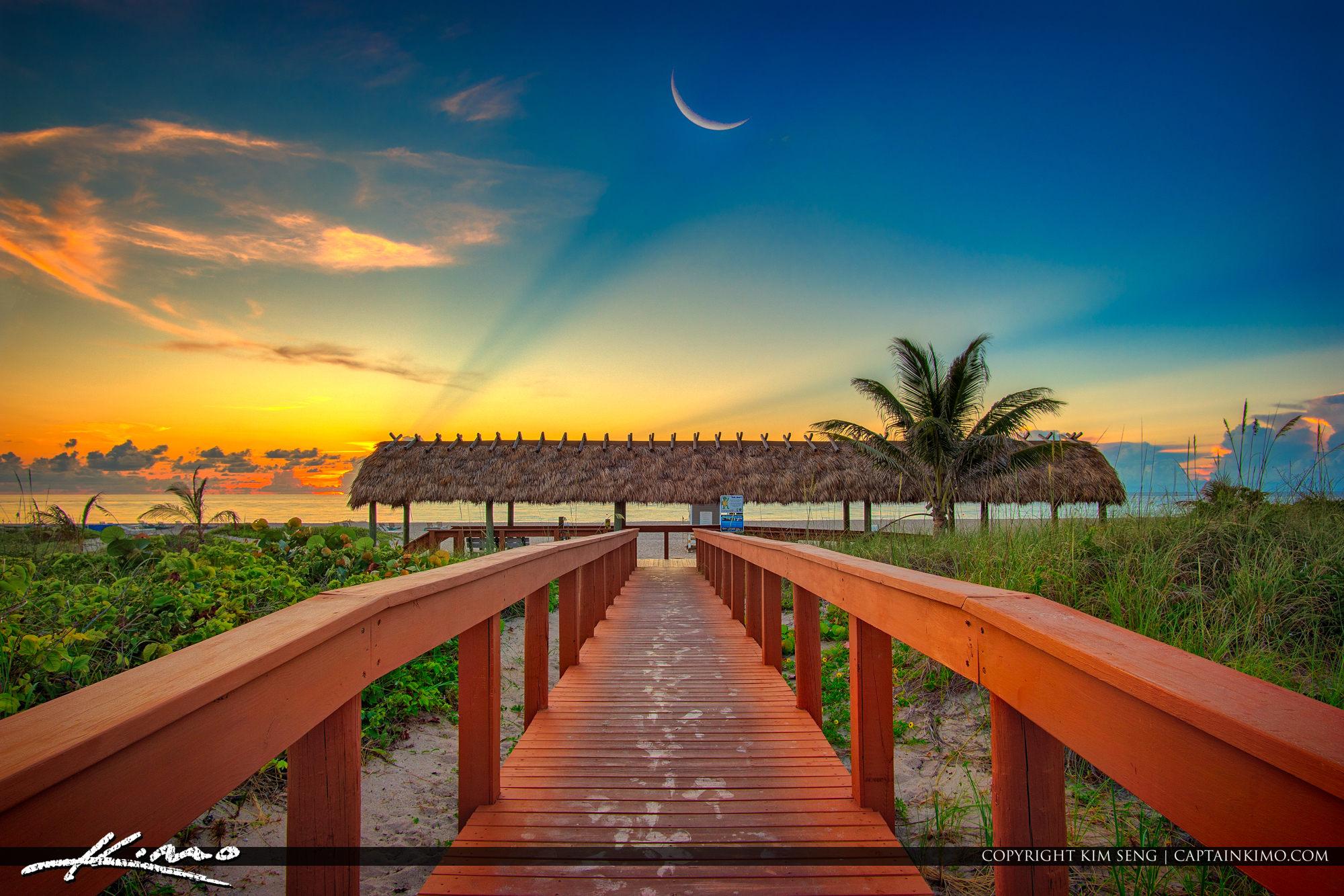 Boardwalk to Beach Singer Island Florida