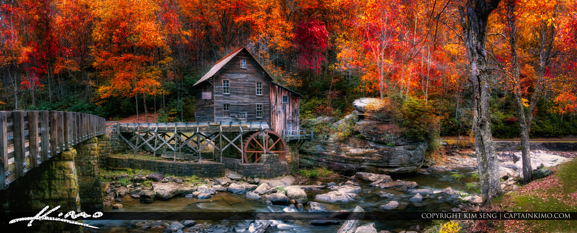 Grist Mill West Virginia at Babcock State Park