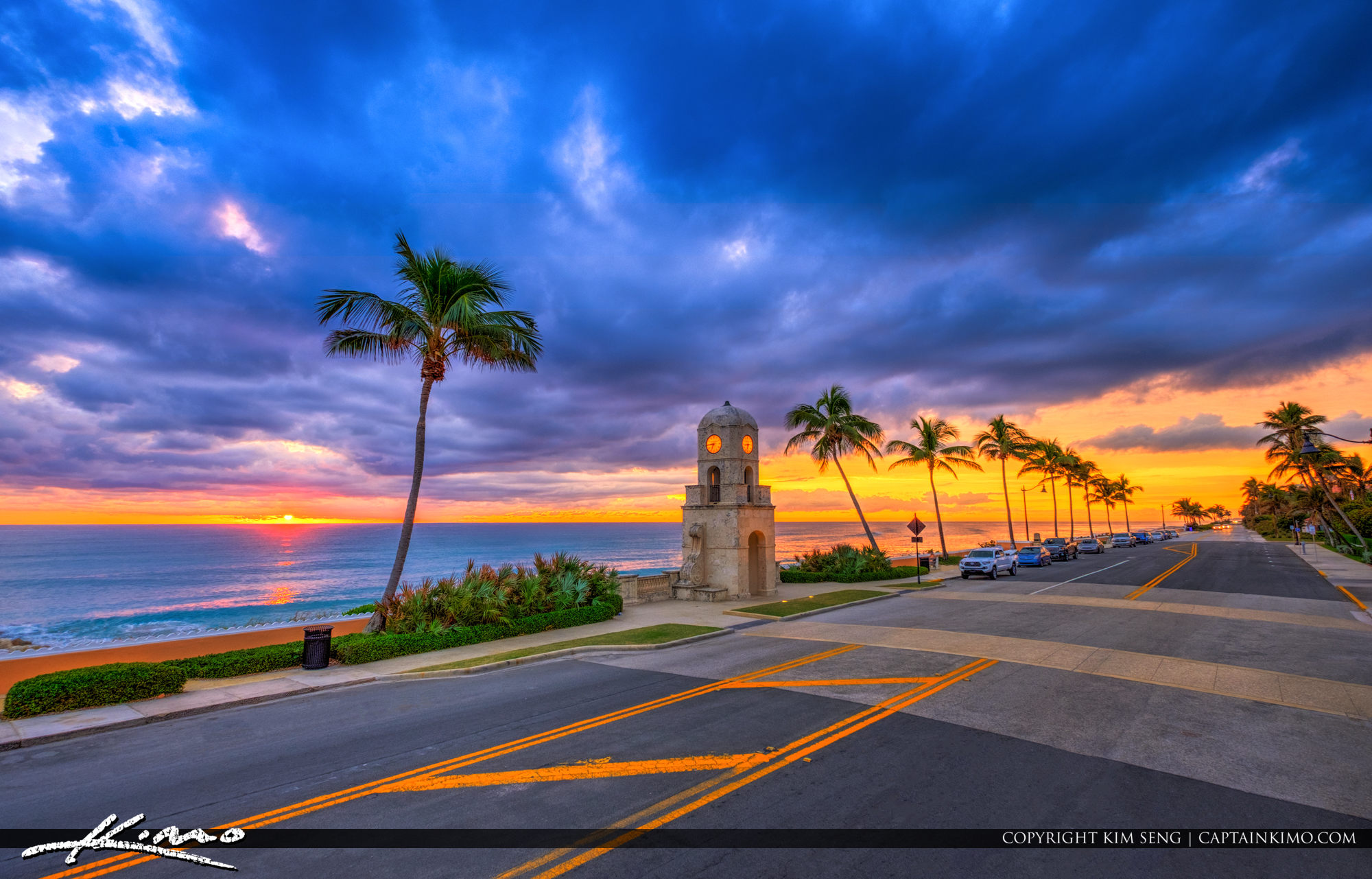 Ocean Boulevard Sunrise Worth Avenue Palm Beach Island