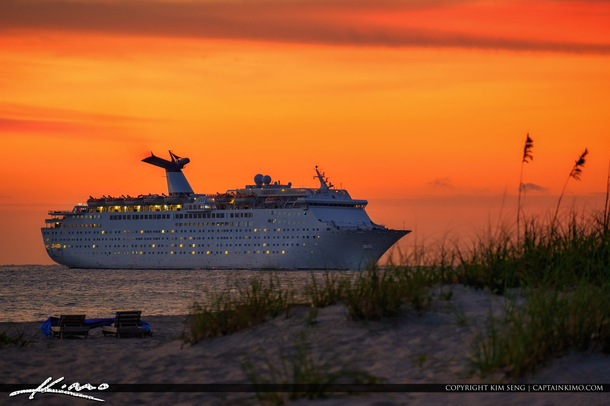 Cruise Ship Port of Palm Beach Singer Island Florida