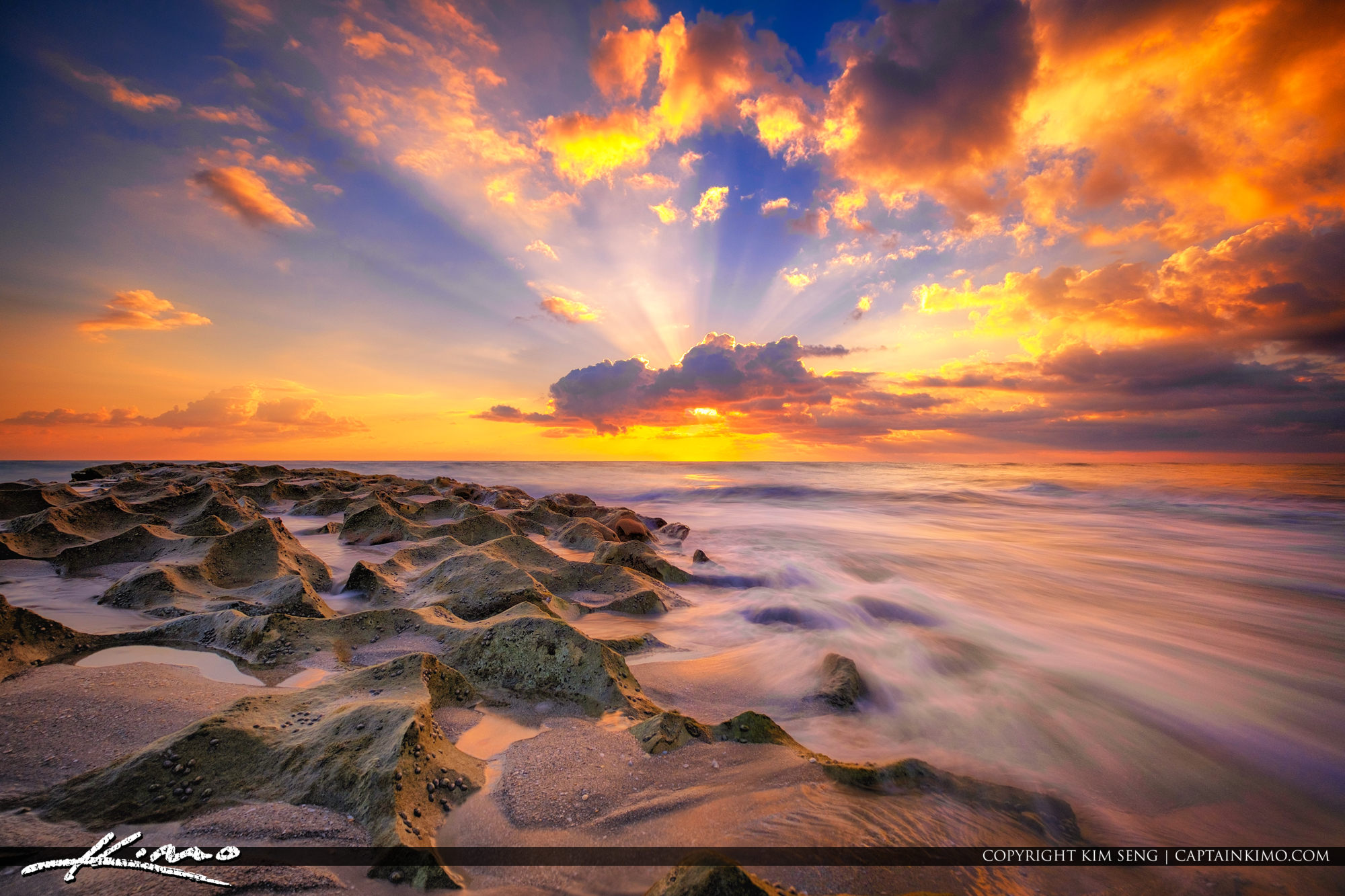 Ocean Reef Park Beach Sunrise Singer Island Florida