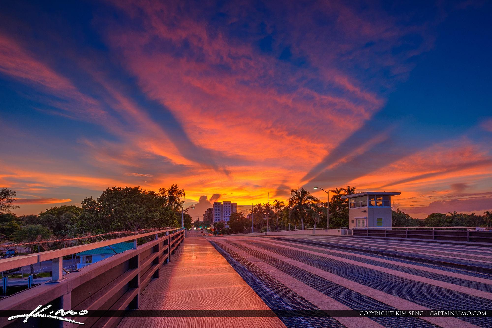 Boca Raton Palmetto Park Rd Sunset Florida