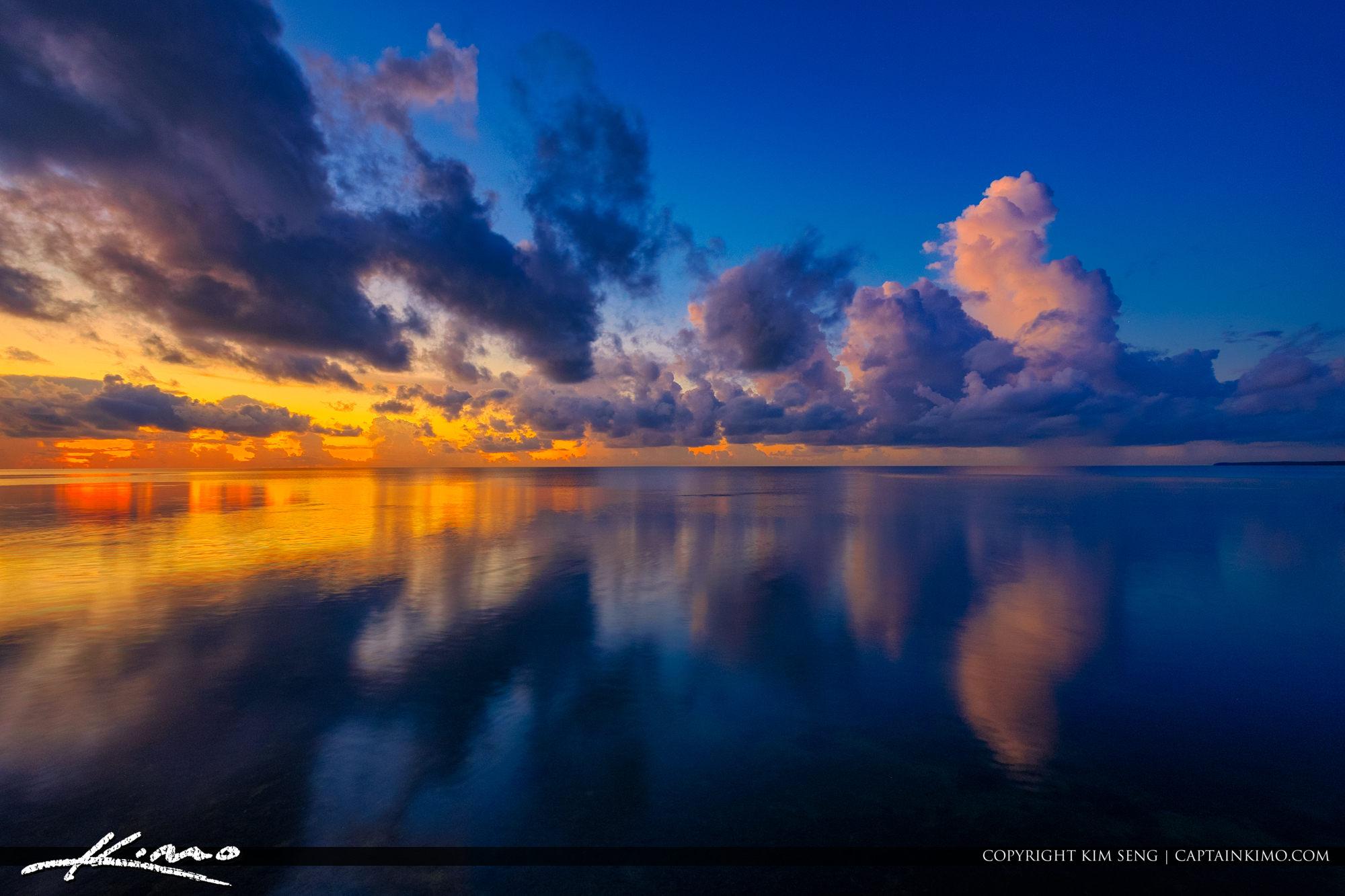 Biscayne Bay Deering Estate Miami Florida Sunrise