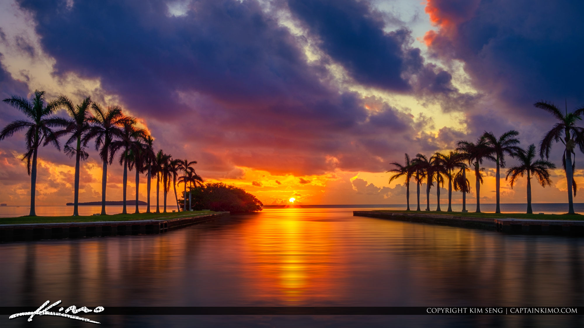Deering Estate Sunrise at Equinox Miami Florida