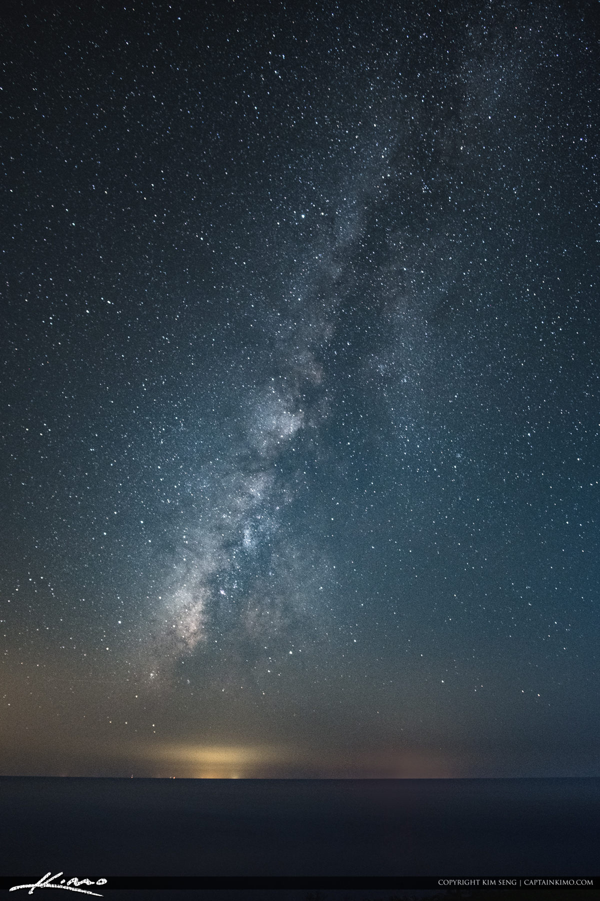 Milkyway Lake Okeechobee from Port Mayaca Florida