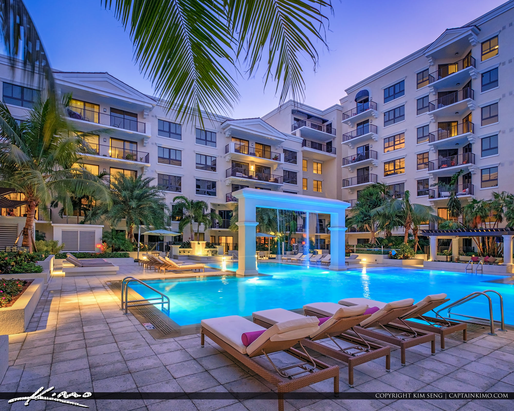 Resort Style Living in Miami Florida