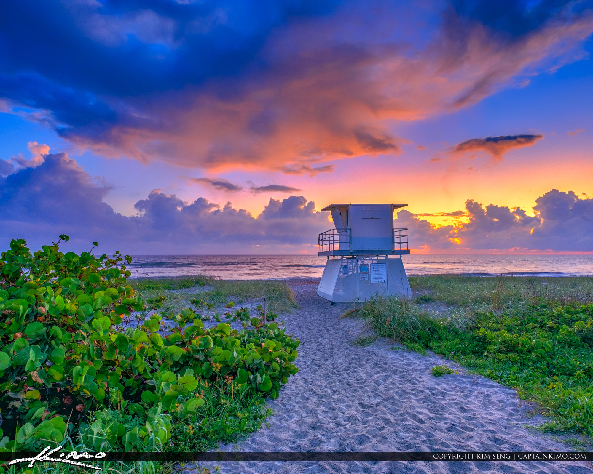 Hobe Sound Beach Martin County Sunrise Treasure Coast Square
