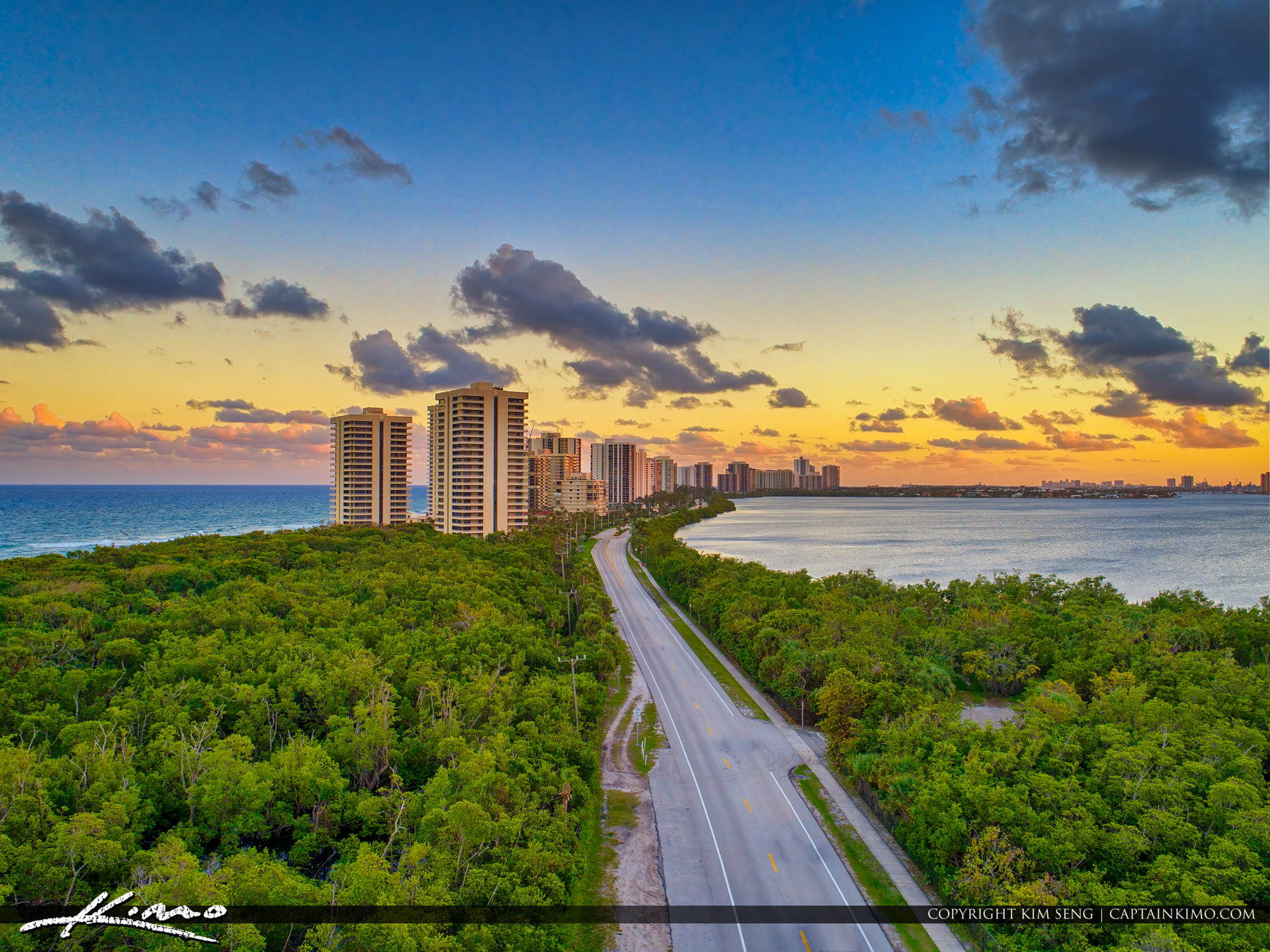 Singer Island Florida Road to Paradise
